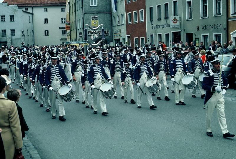 Musikfest 1980 in Neuötting